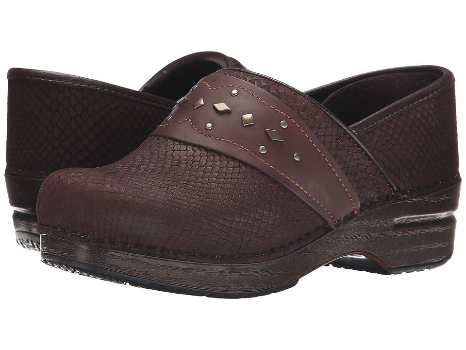 Dansko - Paven (Brown Snake) Women's Shoes