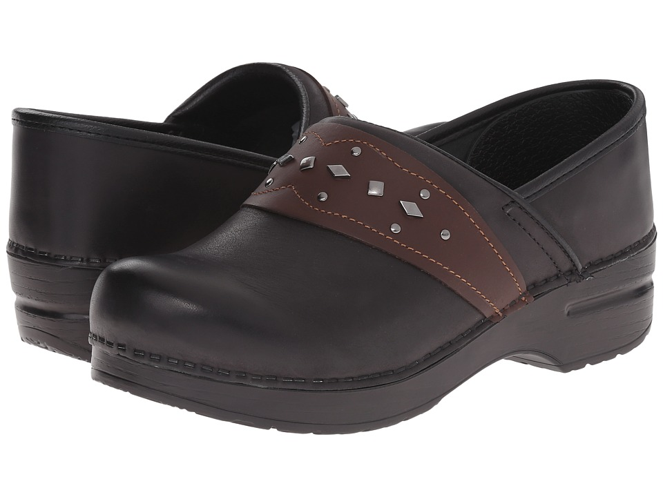 Dansko - Paven (Black Leather) Women's Shoes