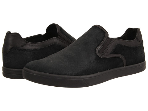 UGG - Tobin (Black Leather/Suede) Men