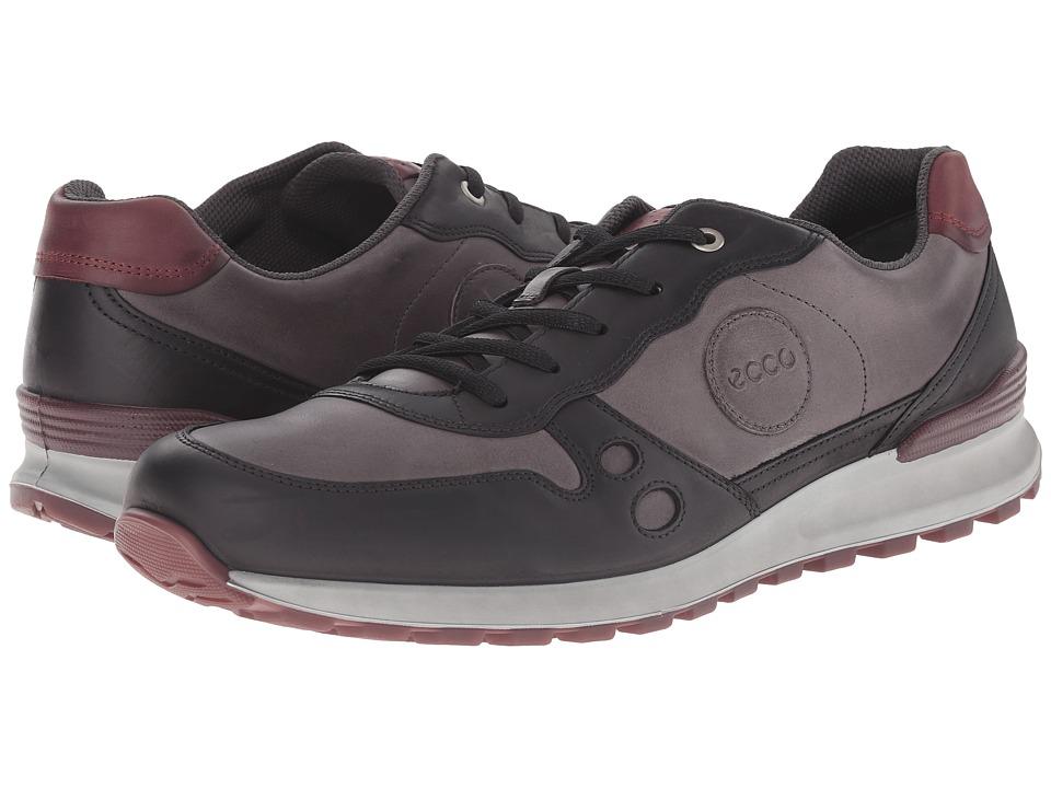 ECCO CS14 Casual Sneaker (Black/Moonless) Men