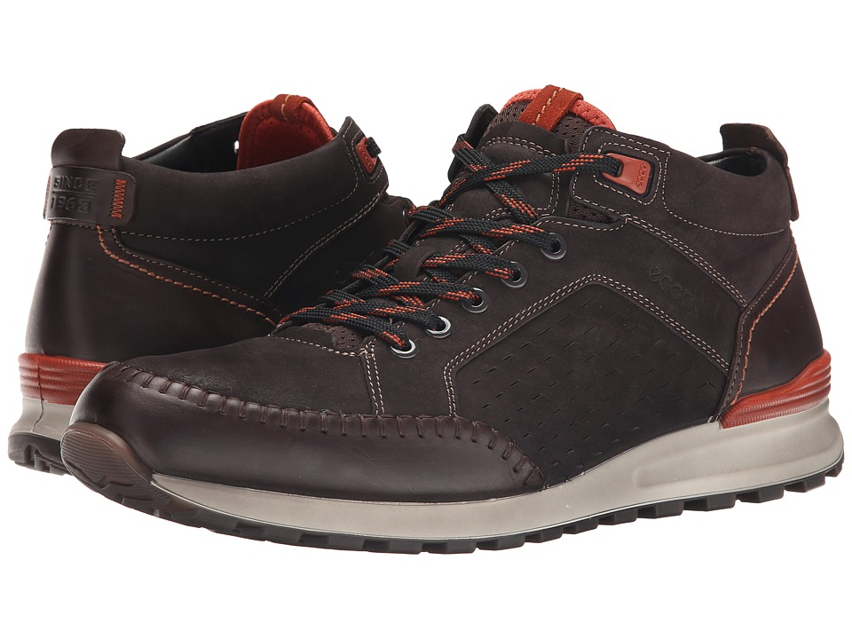 ECCO - CS14 Retro Boot (Coffee/Licorice/Picante) Men