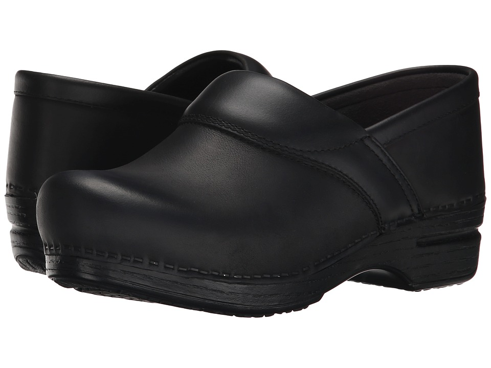 Dansko - Poppy (Black Burnished Nubuck) Women's Shoes