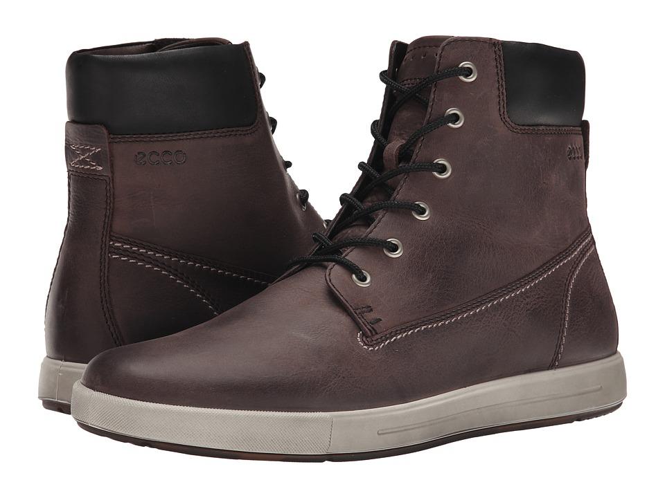 ECCO - Eisner Boot (Espresso/Black) Men's Lace-up Boots