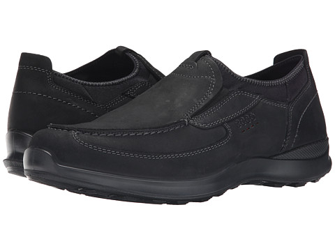 ECCO - Hayes Slip-On (Black) Men's Slip on Shoes