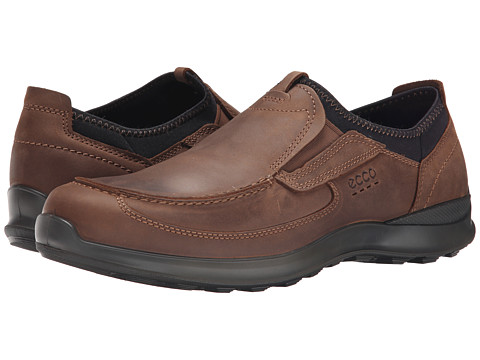 ECCO - Hayes Slip-On (Cocoa Brown) Men's Slip on Shoes