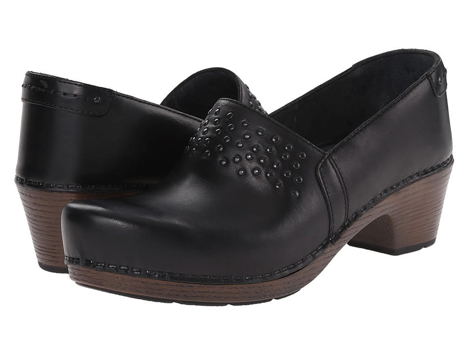 Dansko - Mavis (Black Full Grain) Women's Shoes