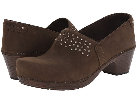 Dansko - Mavis (Brown Milled Nubuck) Women's Shoes
