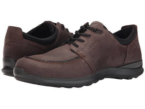 ECCO - Hayes Tie (Mocha) Men's Lace up casual Shoes