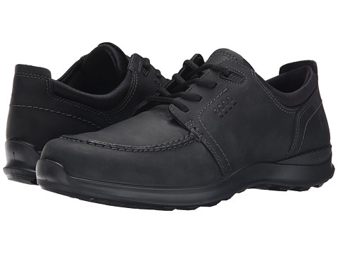 ECCO - Hayes Tie (Black) Men's Lace up casual Shoes