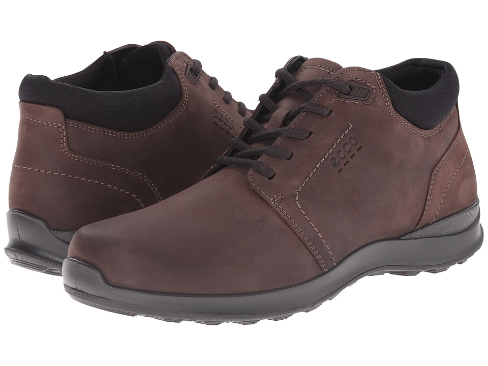 ECCO Hayes Mid Mocha Mens Lace up casual Shoes