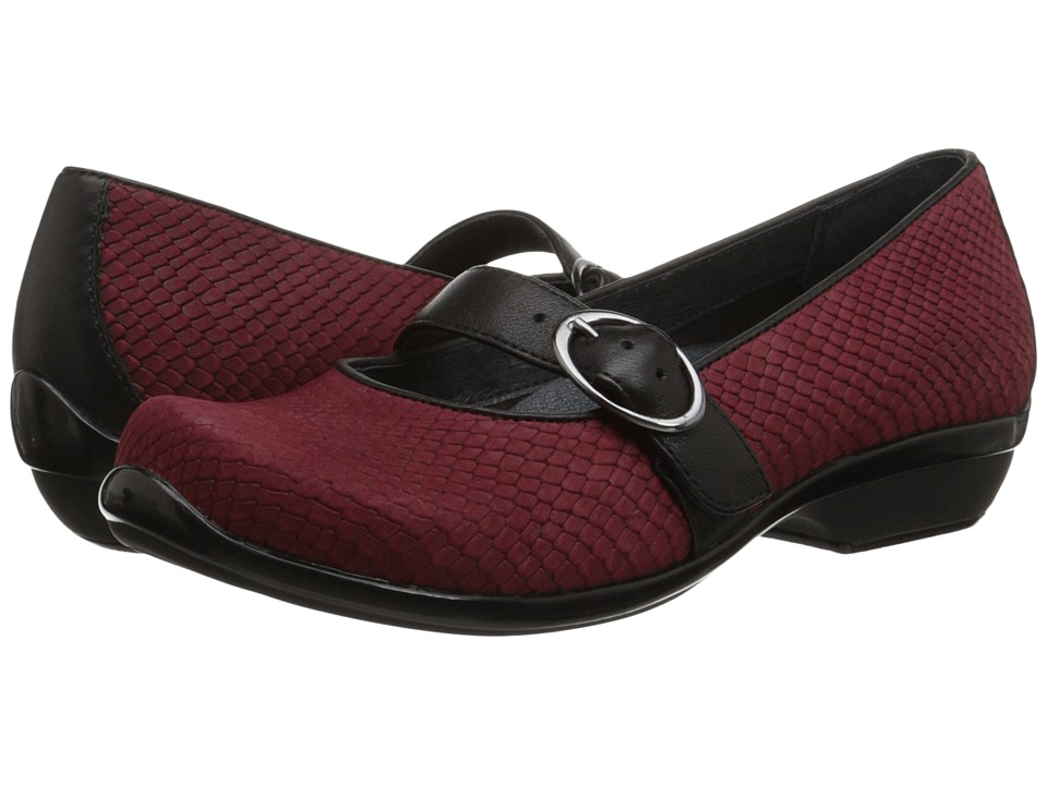 Dansko - Orla (Cranberry Snake) Women's Shoes