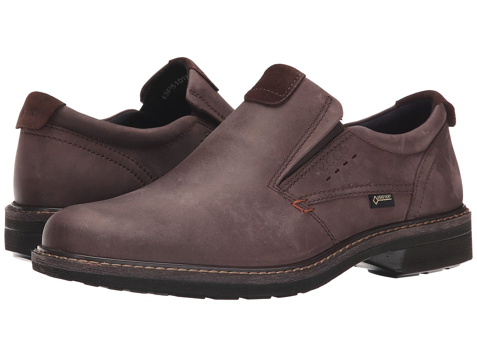 ECCO - Turn GTX Slip-On (Mocha/Mocha) Men's Shoes