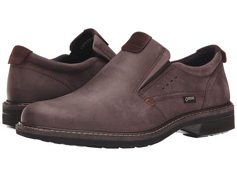 ECCO - Turn GTX Slip-On (Mocha/Mocha) Men's Shoes