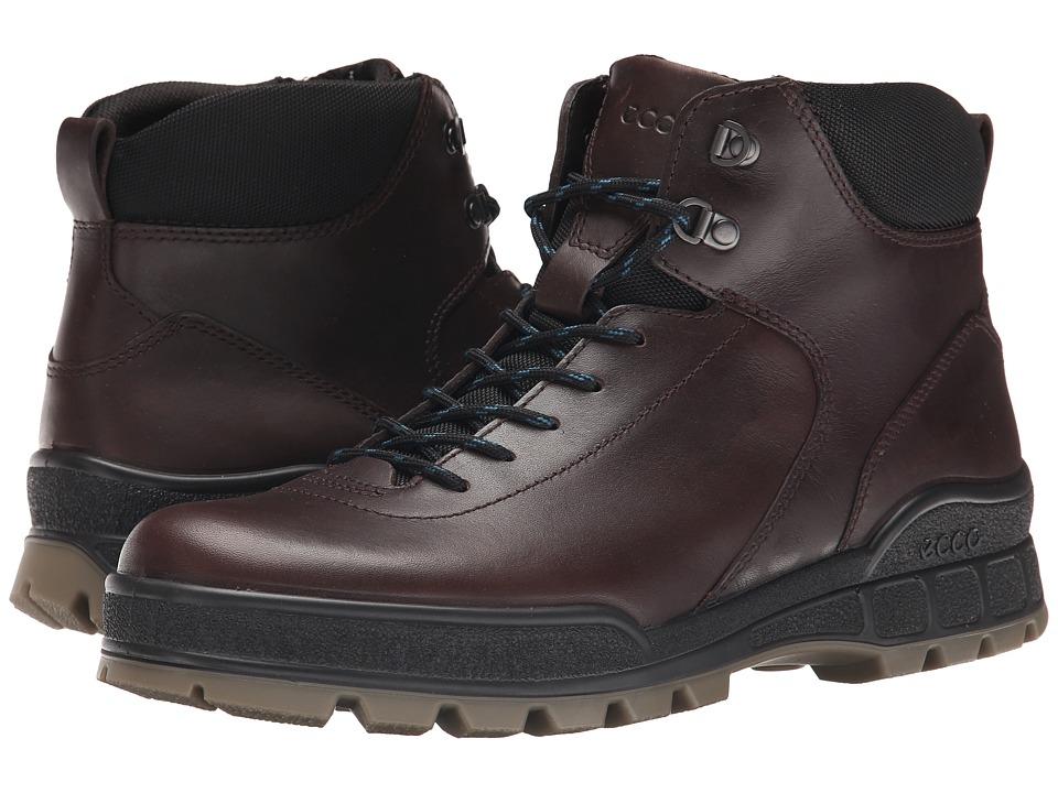 ECCO - Track II Hydromax (Coffee) Men's Boots