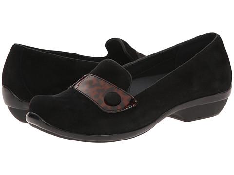 Dansko - Olena (Black Tortoise) Women's Slip on Shoes