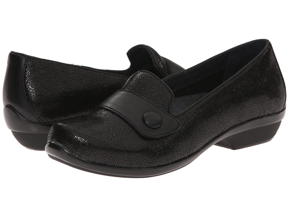 Dansko - Olena (Black Crackle) Women's Shoes