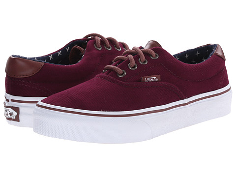 Vans Kids - Era 59 (Little Kid/Big Kid) ((T & L) Windsor Wine/Plus) Boys Shoes