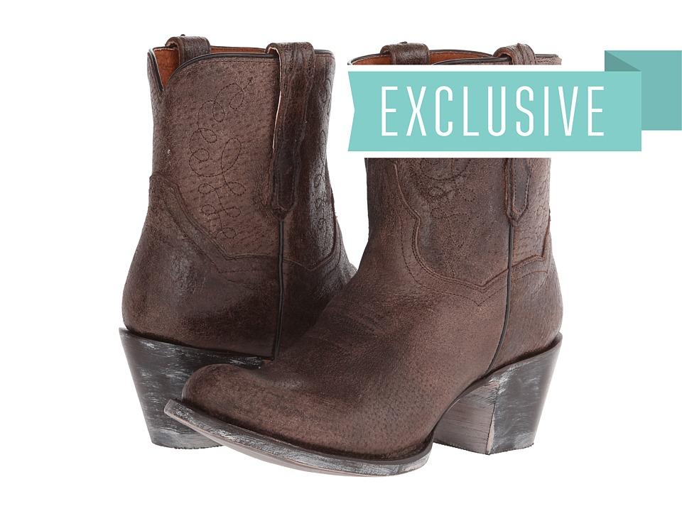 Dan Post - Krackle (Brown) Cowboy Boots