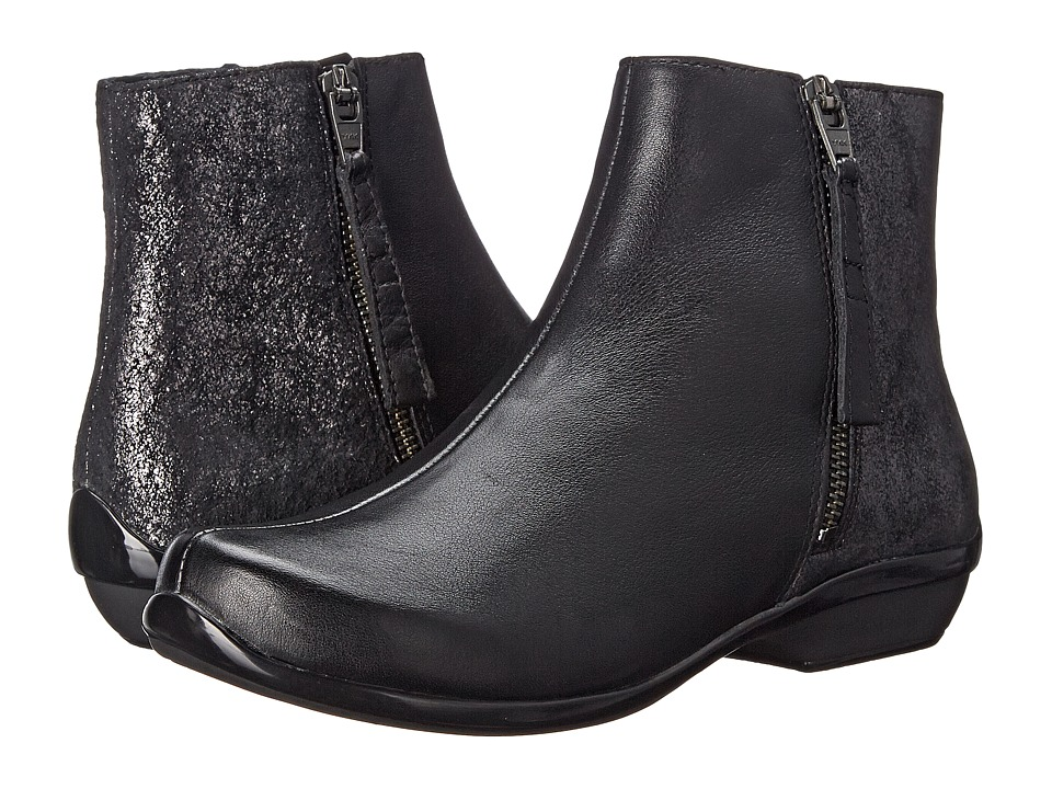 Dansko - Otis (Black Nappa) Women's Dress Lace-up Boots
