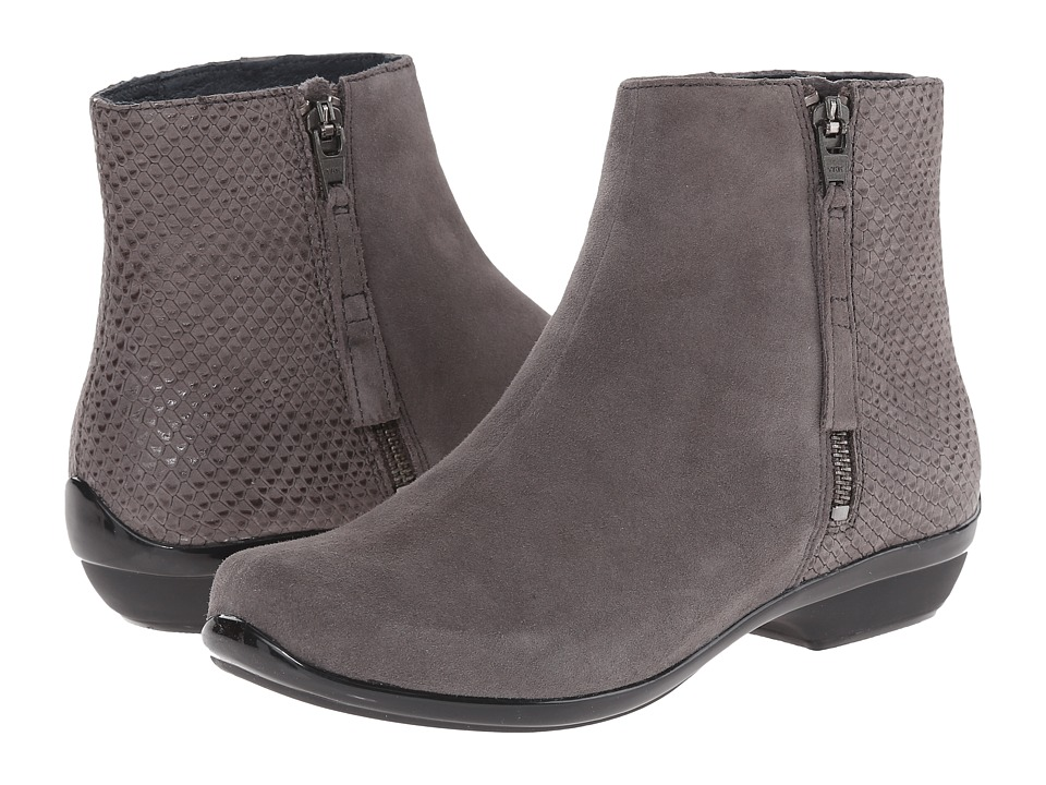 Dansko - Otis (Grey Kid Suede) Women's Dress Lace-up Boots