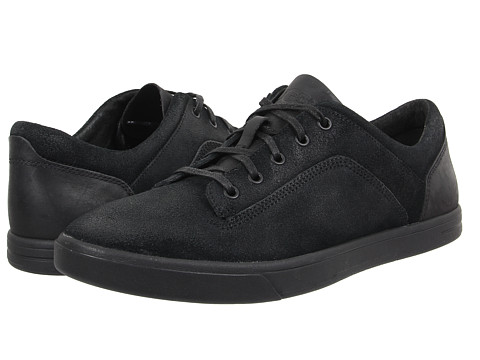 UGG - Bueller (Black Leather/Suede) Men's Lace up casual Shoes