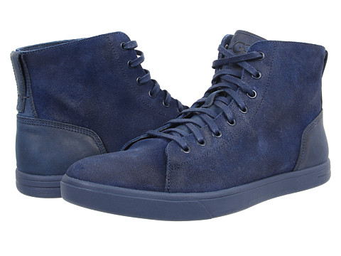 UGG - Steiner (New Navy Leather/Suede) Men