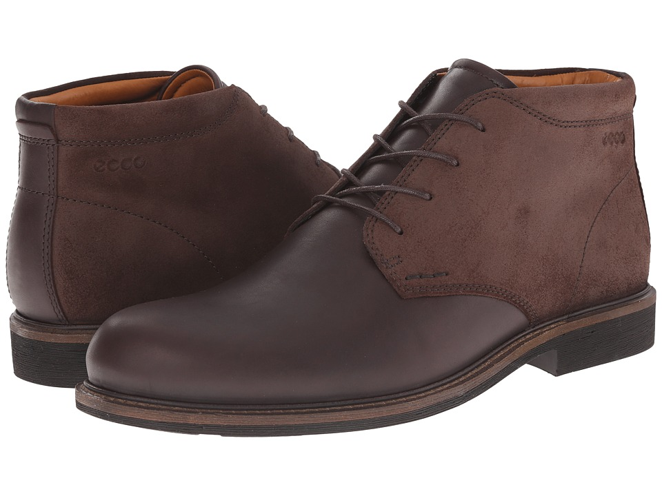 ECCO - Findlay Chukka Boot (Coffee/Mocha) Men