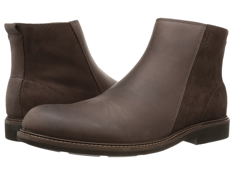 ECCO - Findlay Mid Cut Boot (Coffee/Mocha) Men