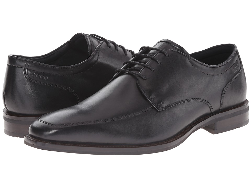 ECCO Faro Oxford Tie (Black) Men