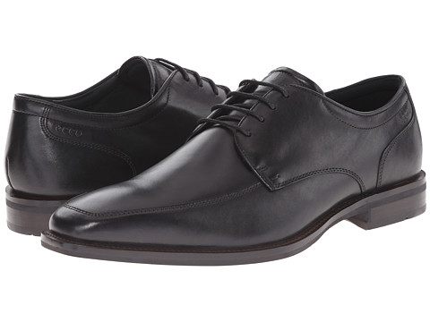 ECCO - Faro Oxford Tie (Black) Men's Lace up casual Shoes