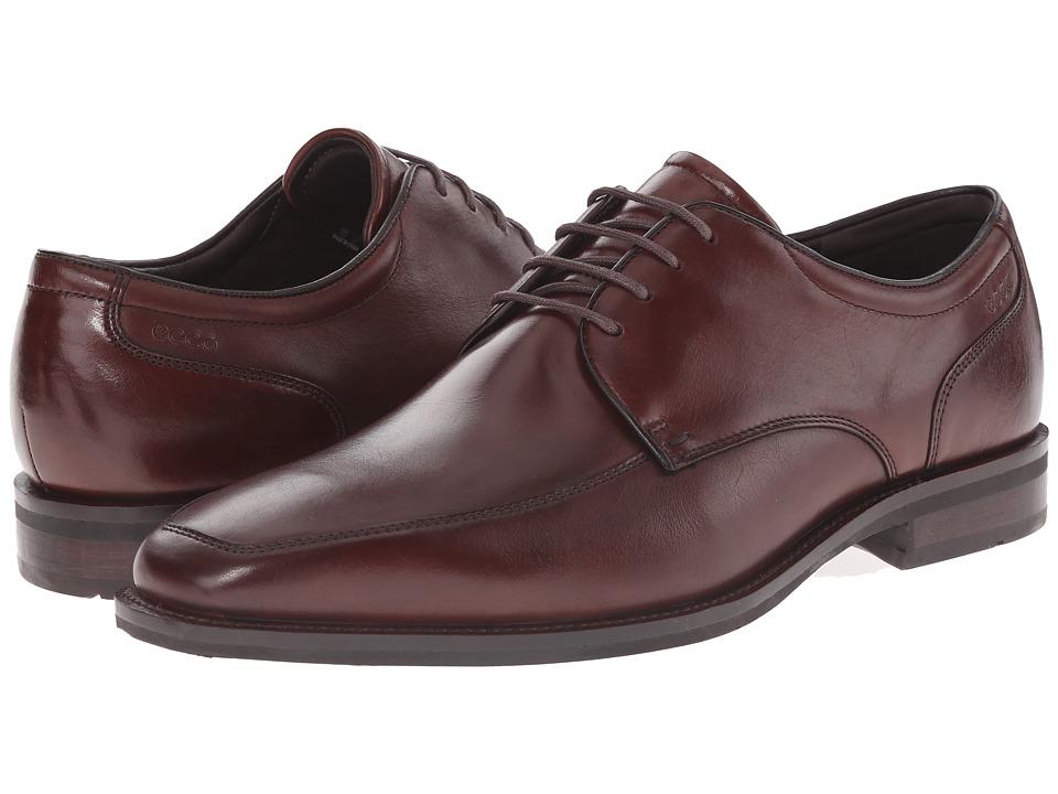ECCO - Faro Oxford Tie (Mink) Men's Lace up casual Shoes