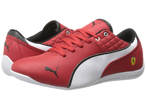 Puma Kids - Drift Cat 6 L NM SF (Little Kid/Big Kid) (Rosso Corsa/White/Rosso Corsa) Boys Shoes