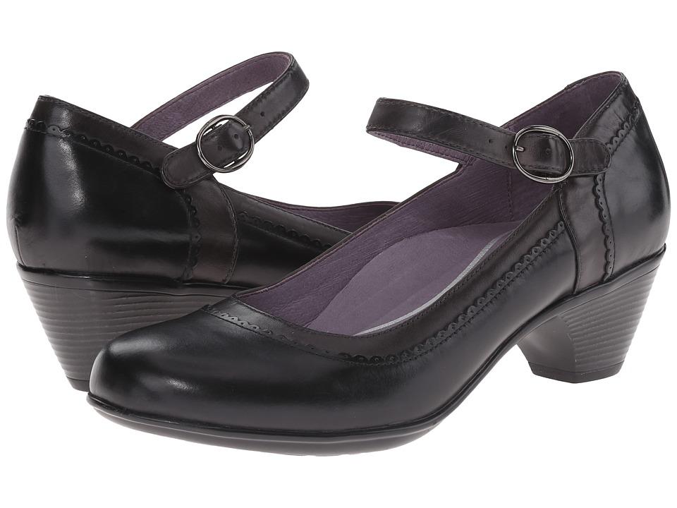 Dansko - Fabrina (Black Multi Calf) Women's Shoes