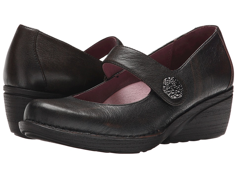 Dansko Adelle (Brown Brushoff Nappa) Women