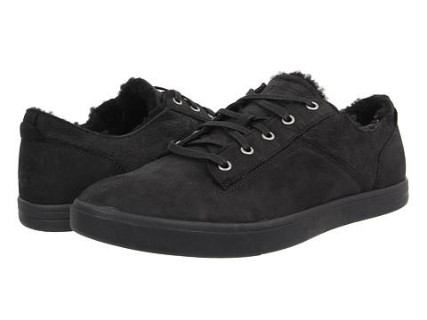 UGG - Bueller Washed Carpa (Black Twinface/Leather) Men