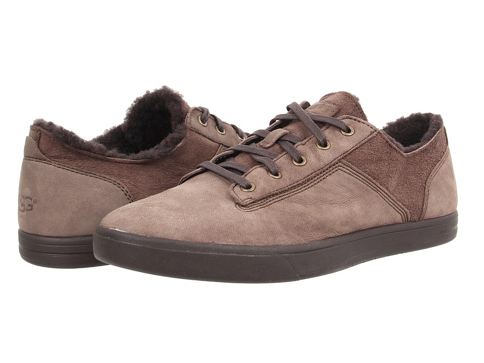 UGG - Bueller Washed Carpa (Chocolate Twinface/Leather) Men