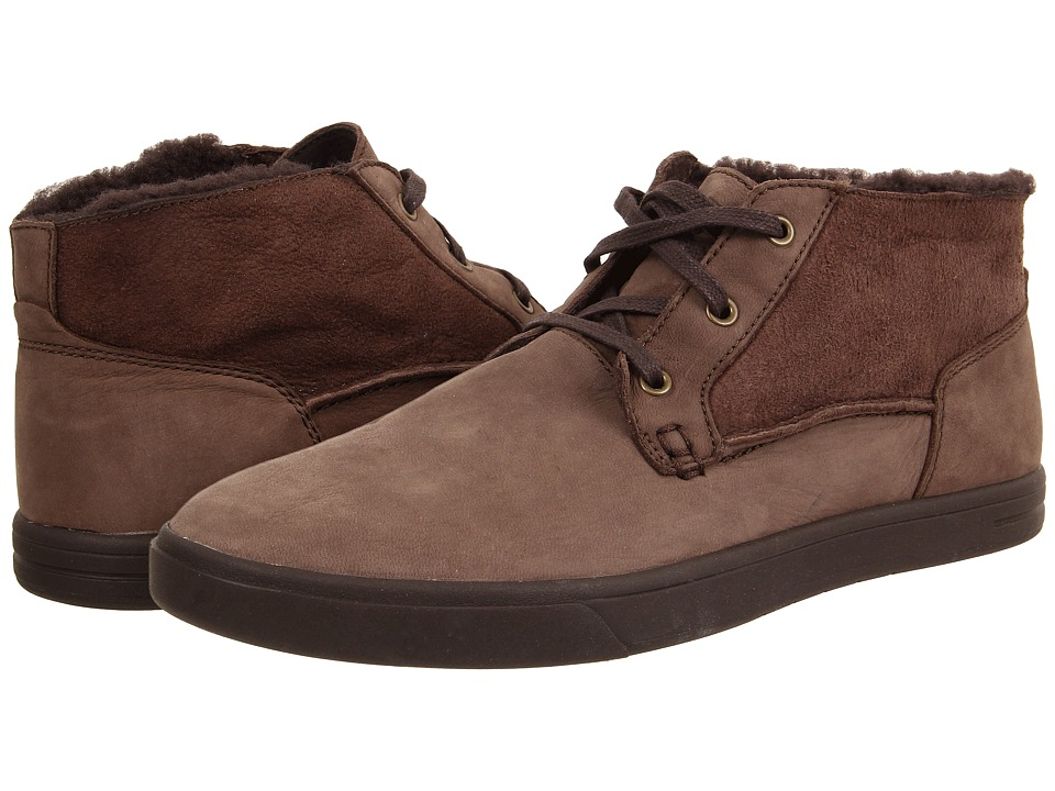 UGG - Kramer Washed Capra (Choclate Twinface/Leather) Men