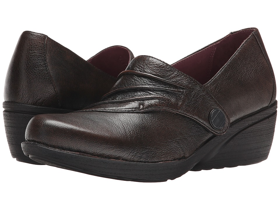 Dansko Aimee (Brown Brushoff Nappa) Women