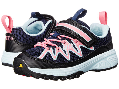 Keen Kids - Rendevous (Toddler/Little Kid) (Dress Blues/Camellia Rose) Girls Shoes