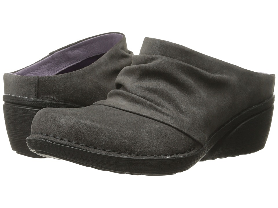 Dansko - Amber (Grey Shimmer Suede) Women's Shoes