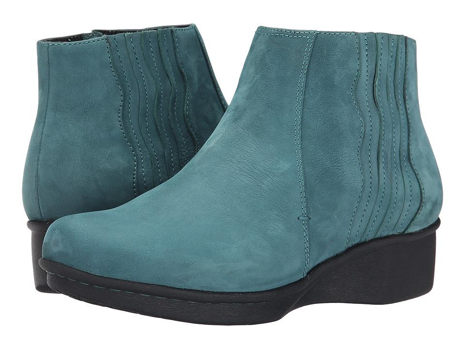Dansko - Larkin (Teal Nubuck) Women's Boots