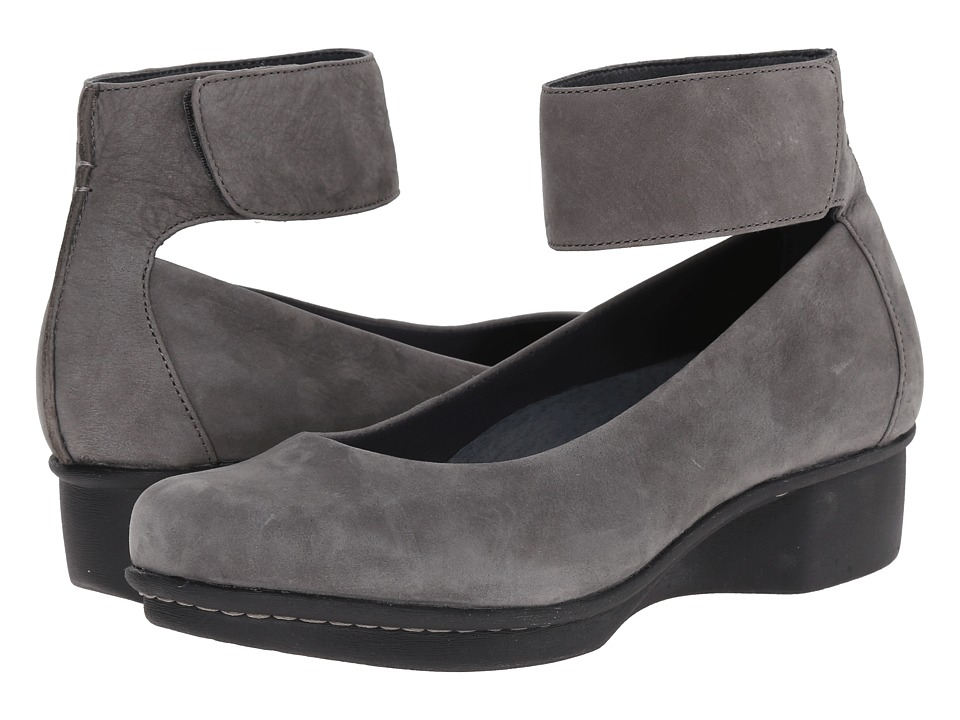 Dansko - Lulu (Grey Nubuck) Women's Shoes