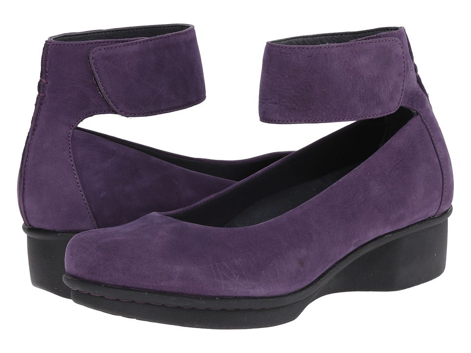 Dansko - Lulu (Plum Nubuck) Women's Shoes