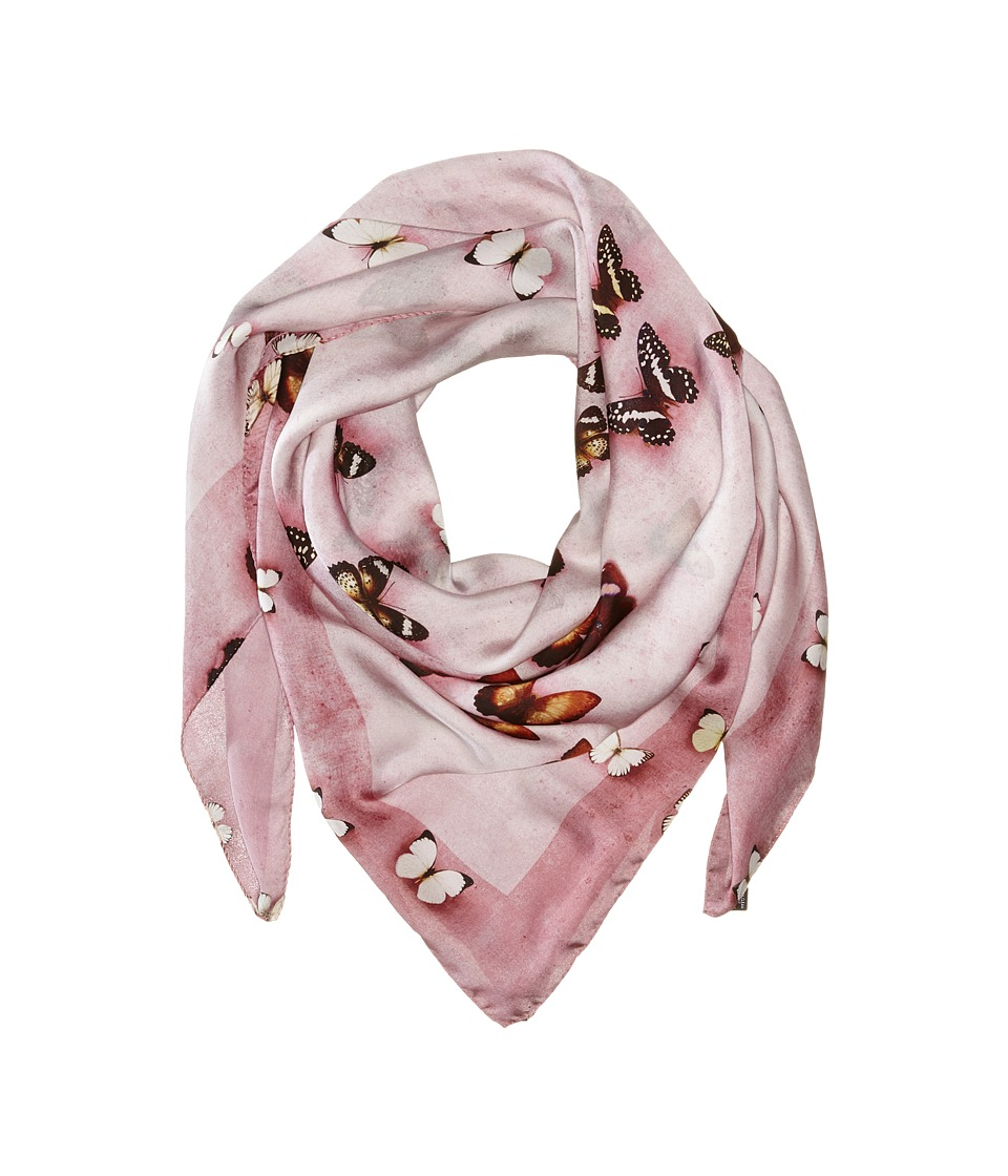 Givenchy - Butterflies Silk Satin Scarf (Baby Pink) Scarves