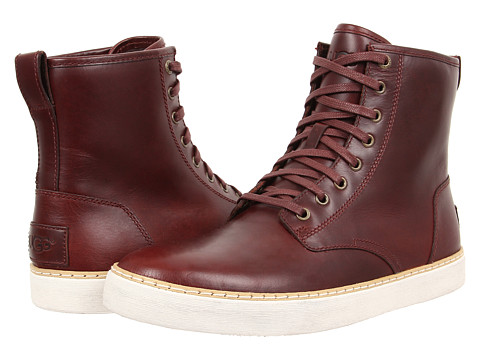 UGG - Braun (Cordovan Leather) Men's Lace up casual Shoes