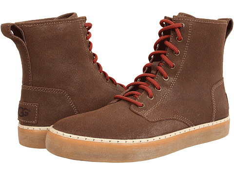 UGG - Braun (Grizzly Suede) Men's Lace up casual Shoes