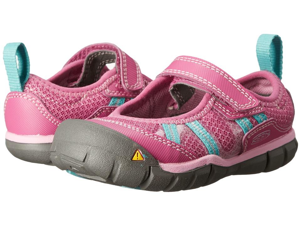 Keen Kids - Monica MJ CNX (Toddler/Little Kid) (Dahlia Mauve/Lagoon) Girls Shoes
