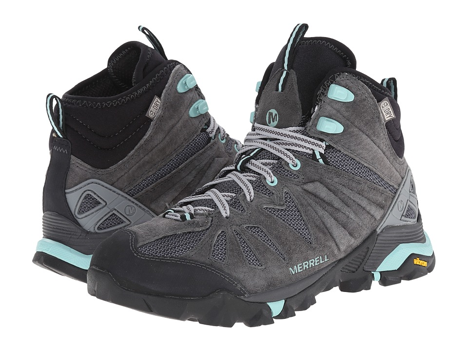 Merrell - Capra Mid Waterproof (Granite) Women's Hiking Boots
