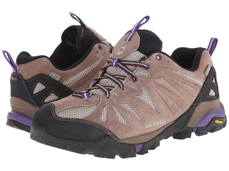 Merrell - Capra Waterproof (Taupe) Women