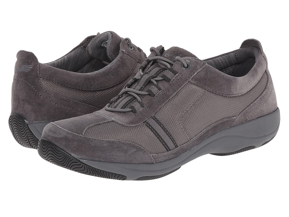Dansko - Helen (Charcoal Suede) Women's Shoes
